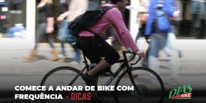 andar de bike com frequência