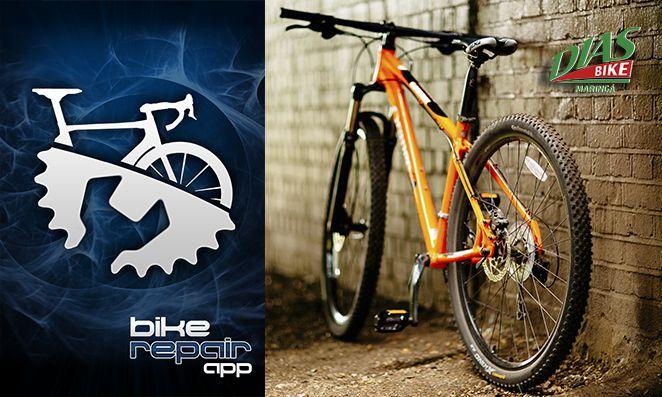 Bike Repair. Aplicativo de ciclismo com dicas de reparos para bicicletas - Dias Bike