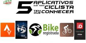 Cinco aplicativos que todo ciclista tem que conhece