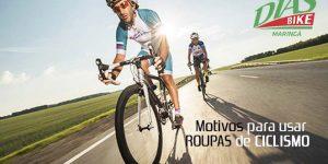 Dois ciclistas andando na rua - motivos para usar roupas de ciclismo - Dias Bike