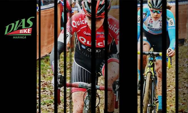 Dois ciclistas pedalando - Dias Bike