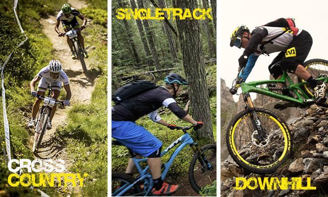 Cross country Slingle track e Downhill - Modalidades de Montain Biking - Dias Bike