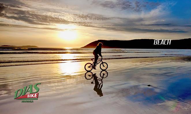 Terrenos para pedalar: Praia